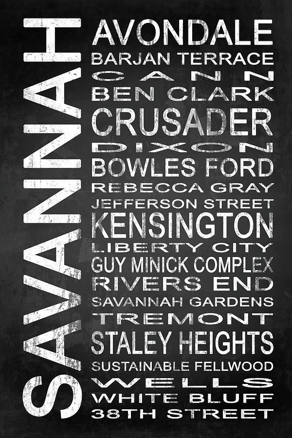 Savannah Digital Art - Savannah Ga 4 by Melissa Smith