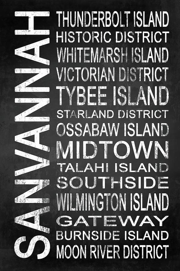 Savannah Digital Art - Savannah Ga 6 by Melissa Smith