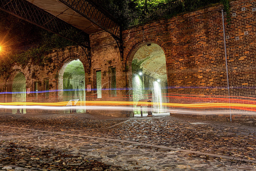 Savannah Light Trails by Bryan Lee Williams