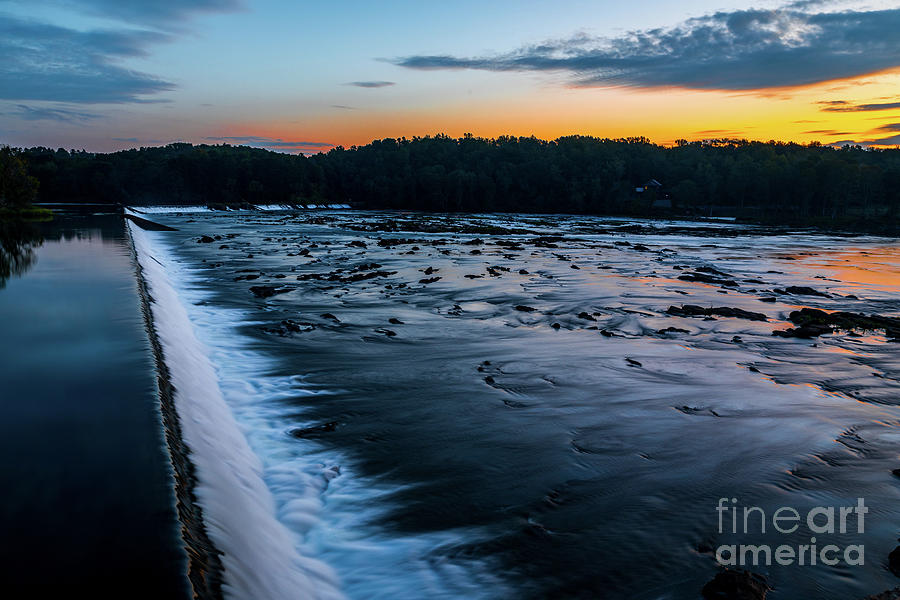 Savannah Rapids Sunrise - Augusta GA by SANJEEV SINGHAL