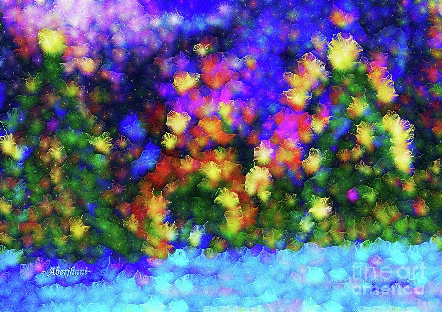Nature Mixed Media - Savannah River Folks Christmas Party  by Aberjhani