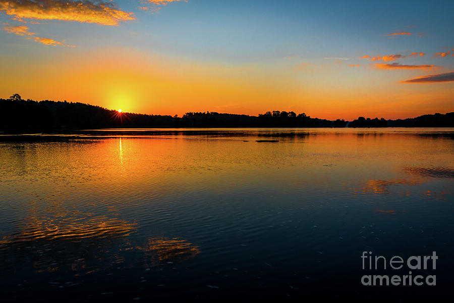 Savannah River Sunrise - Augusta GA by SANJEEV SINGHAL