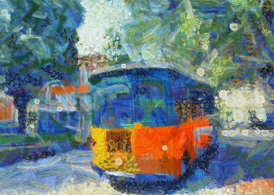 Savannah Trolley Tour by Dan Sproul