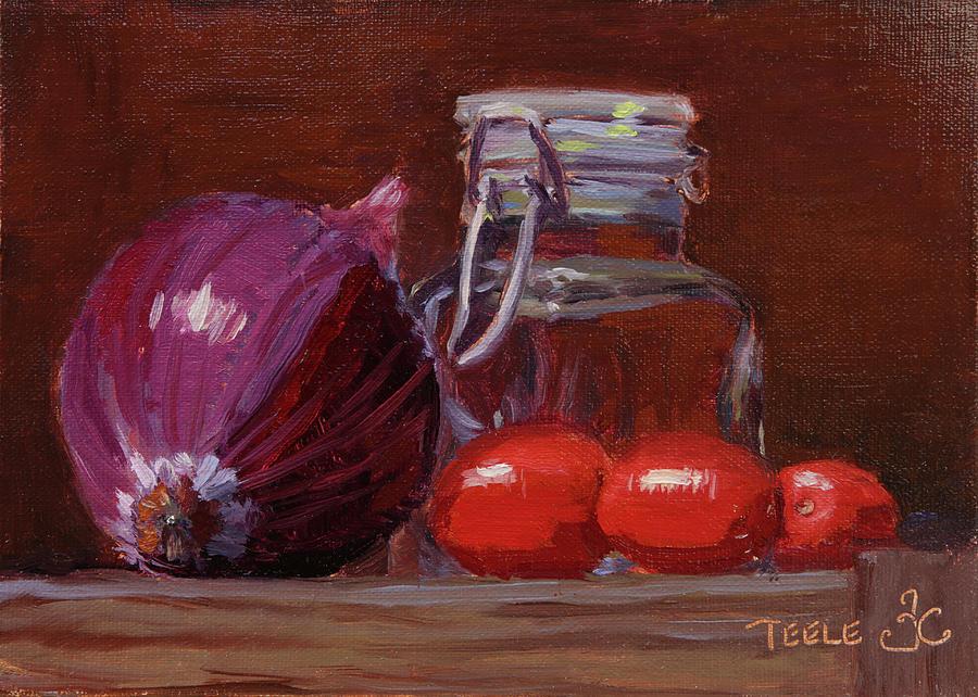 Savory Still by Trina Teele