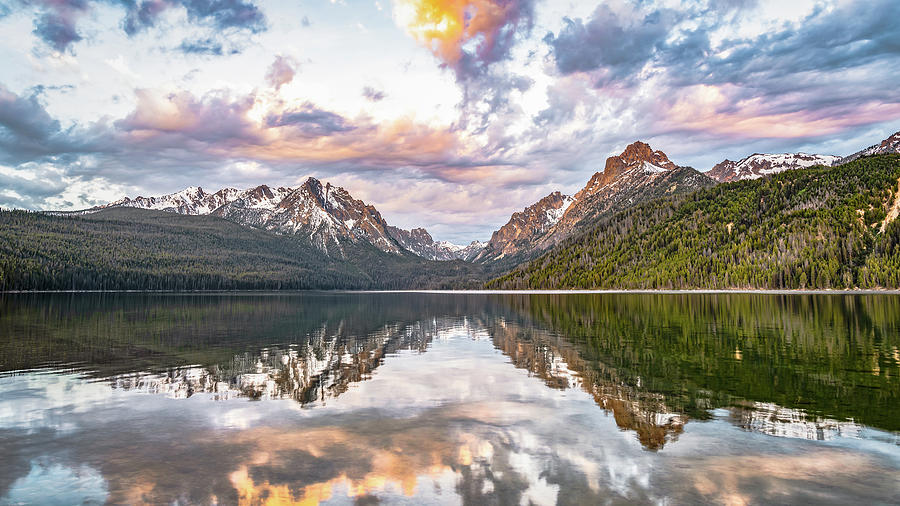 Sawtooth Sunrise by Hamish Mitchell