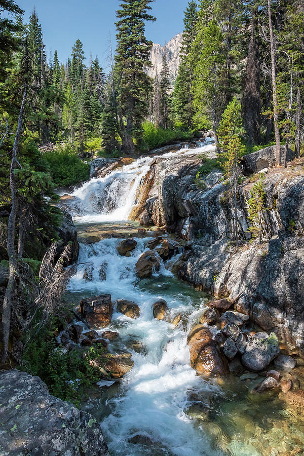 Sawtooth Waterfall 2 by Mark Mille