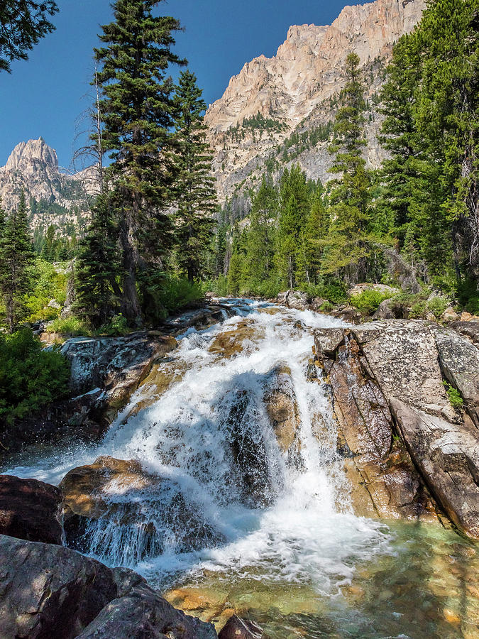 Sawtooth Waterfall by Mark Mille