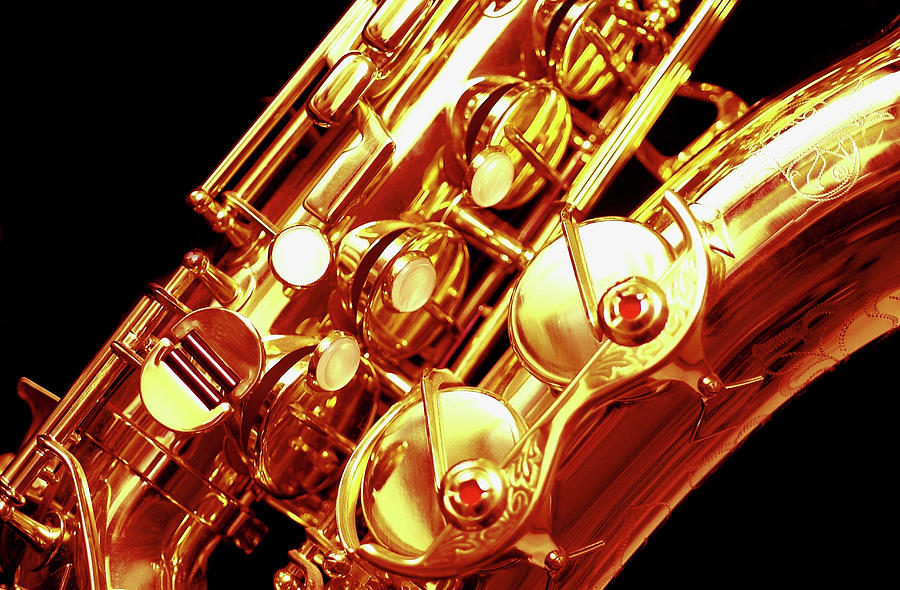 Saxophone, Close-up Photograph by Medioimages/photodisc