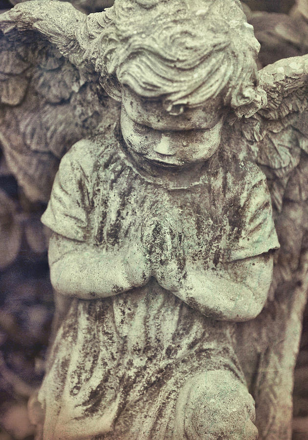 Angel Photograph - Say A Little Prayer by JAMART Photography