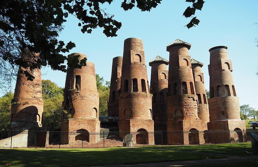 Saylor Coplay Cement Kilns by Jacqueline M Lewis