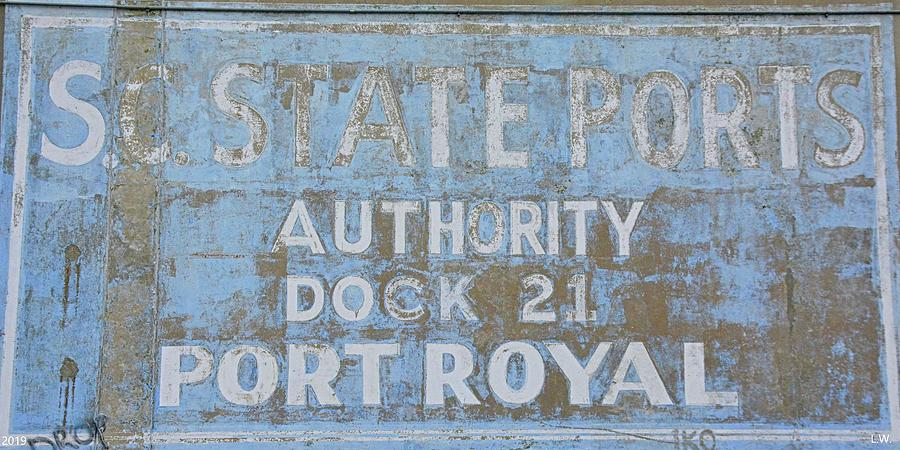 S.C. State Ports Authority Dock 21 Port Royal by Lisa Wooten