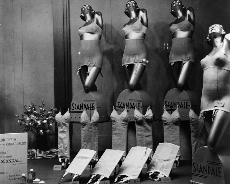 Scandale Corsets Photograph by Hulton Archive