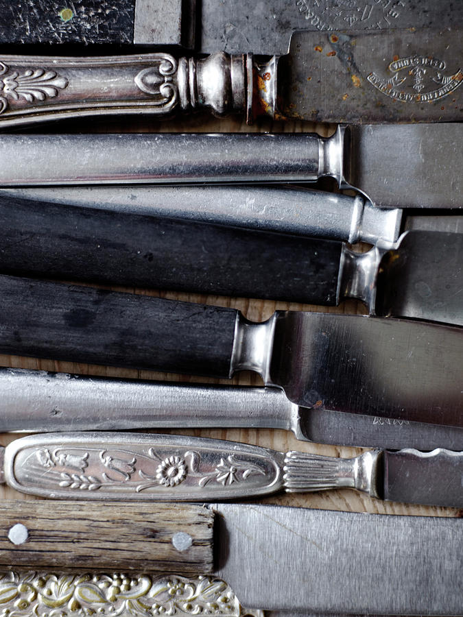 Scandinavia, Sweden, Various Knives Photograph by Johner Images