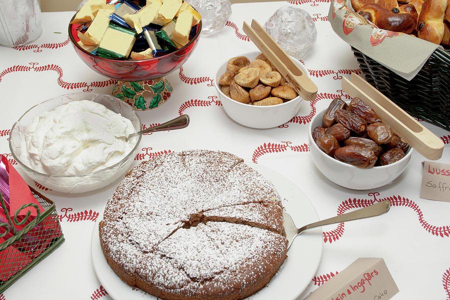 Scandinavian Dessert Smorgasbord Photograph by Steve Skjold