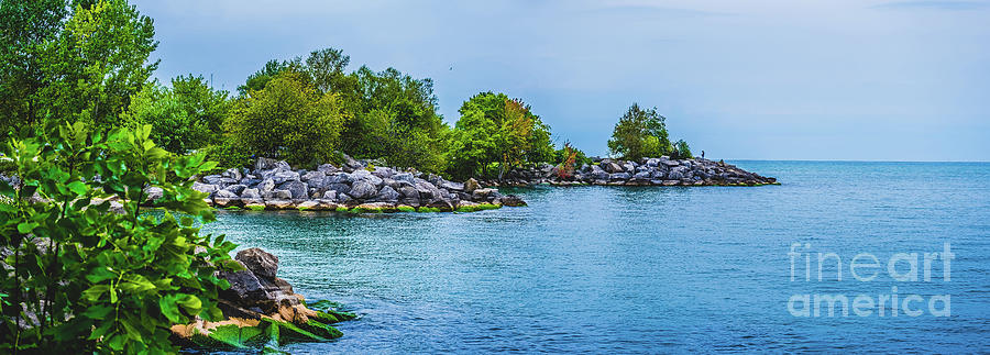 Scarborough Bluffs Landscape Panoramic Photograph III by SteScarborough Bluffs Landscape Panoramic Phphen Geisel