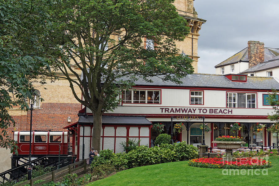 Scarborough Central Tramway. by David Birchall