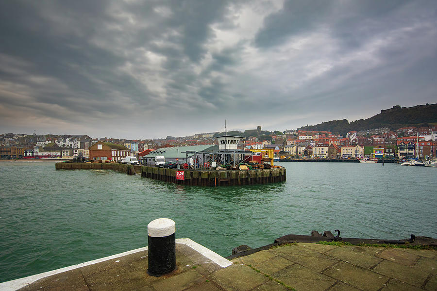 Scarborough Mixed Media - Scarborough Harbour by Smart Aviation