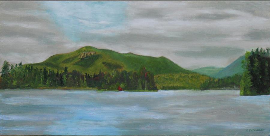 Scarface Mountain Adirondacks by Robert P Hedden
