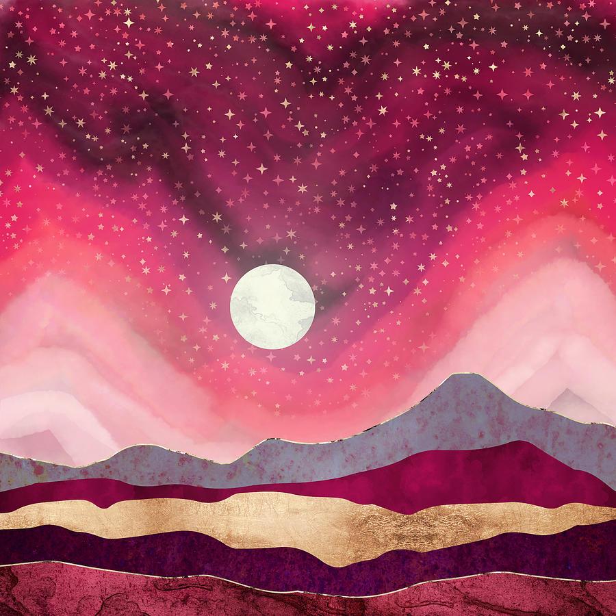 Scarlet Night by Spacefrog Designs