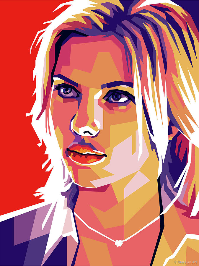 Scarlett Johansson Digital Art