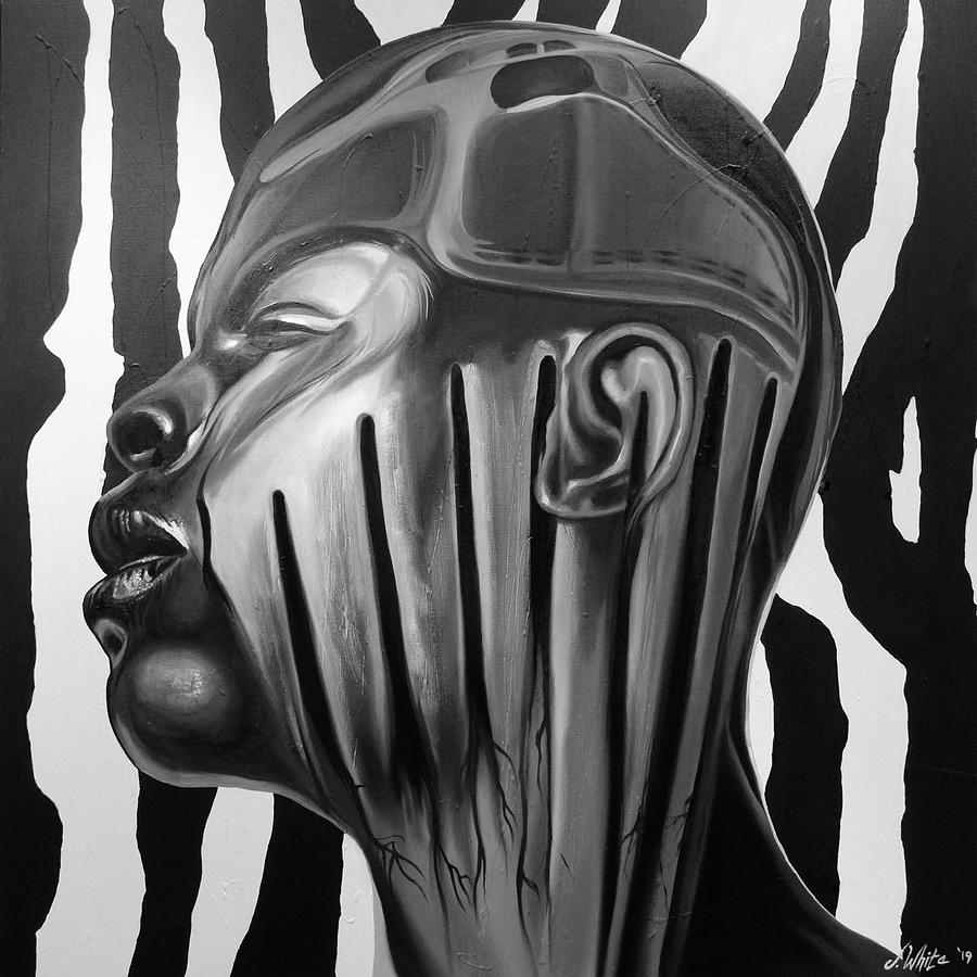 Scars Painting - Scars And Stripes by Jerome White