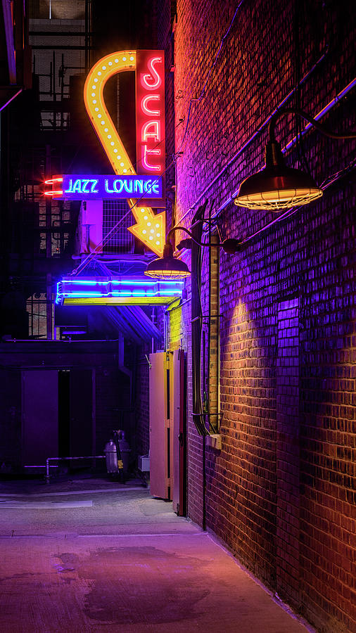 Scat Jazz Alley Photograph