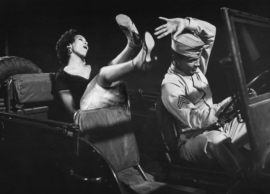 Scene From Carmen Jones Photograph by John Springer Collection