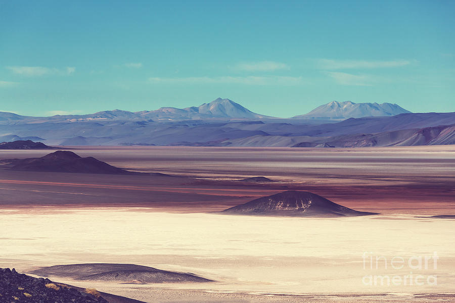 Steppe Photograph - Scenic Landscapes Of Northern Argentina by Galyna Andrushko