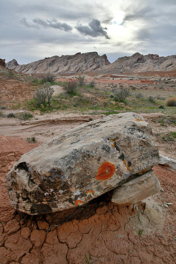 Scenic San Rafael Swell and Desert by Ray Mathis