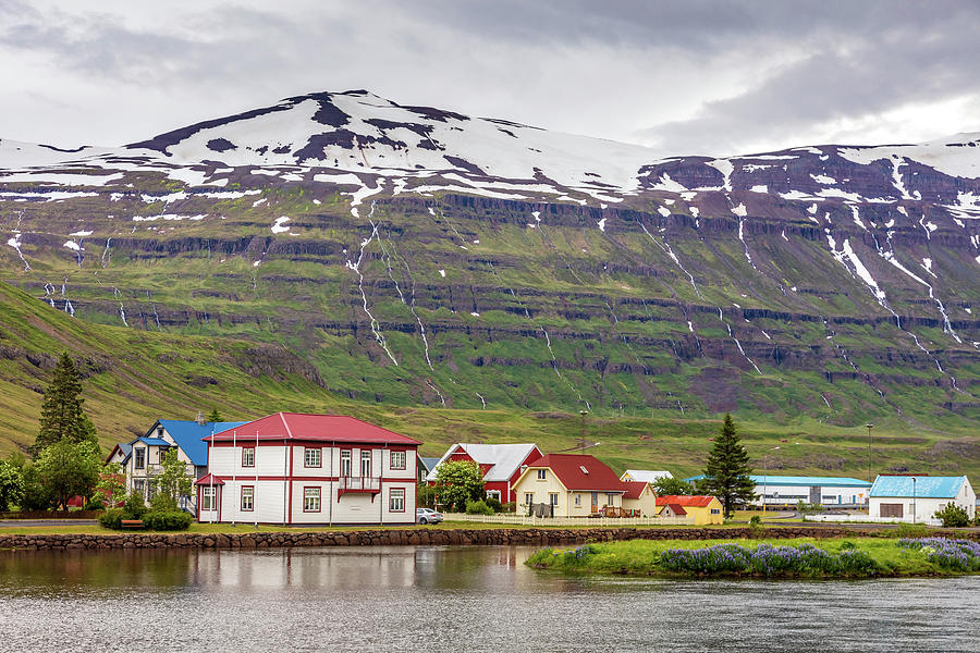 Scenic Town of Seydisfjordur East Iceland by Pierre Leclerc Photography