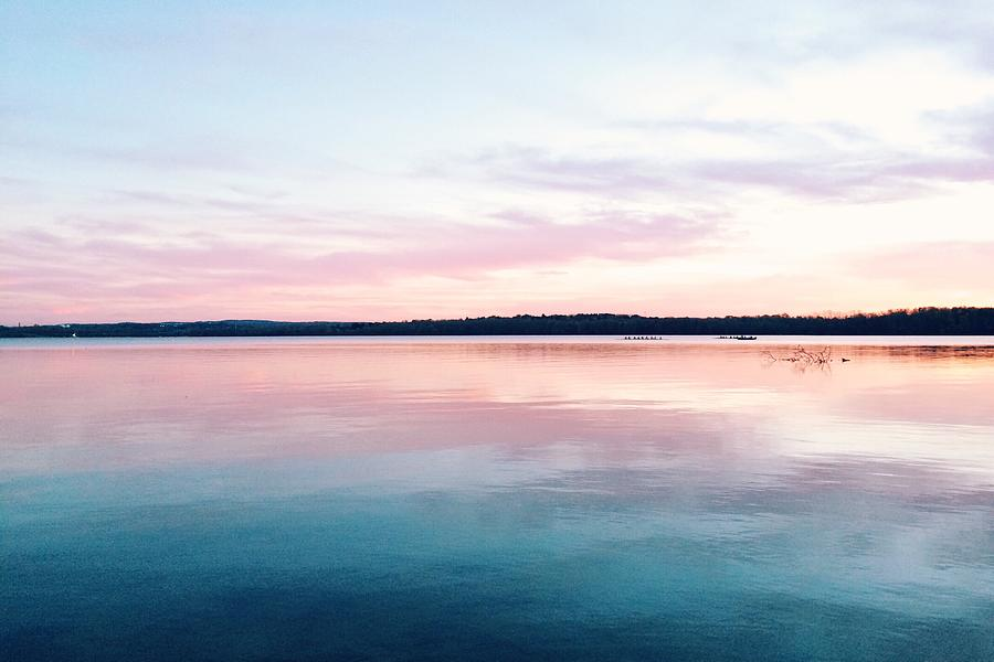 Scenic View Of Calm Sea Against Cloudy Photograph by Thomas Weng / Eyeem