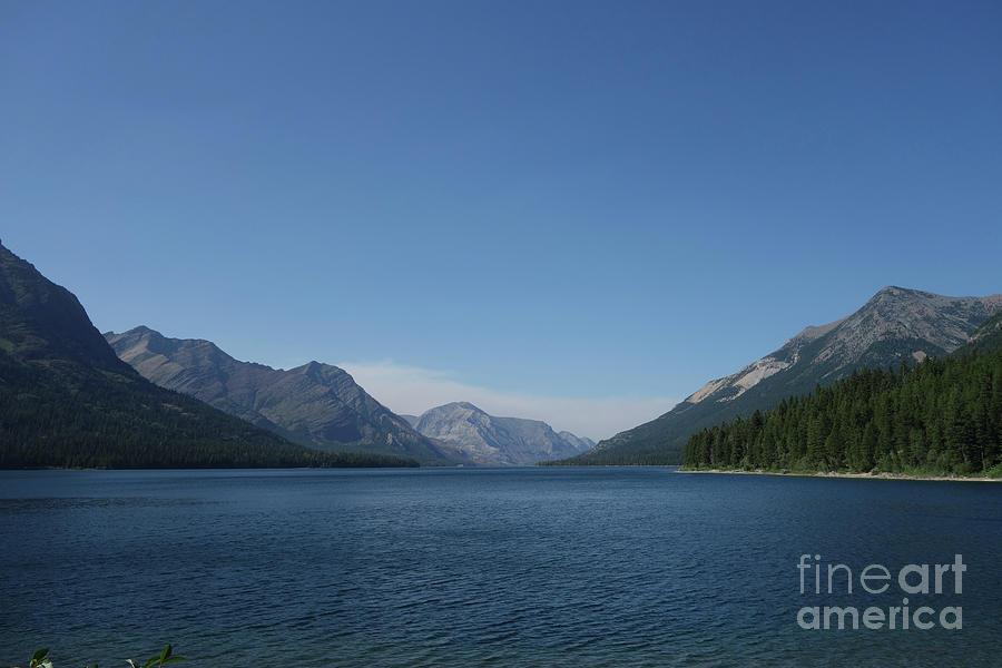 Scenic Waterton Lake by Wilko Van de Kamp