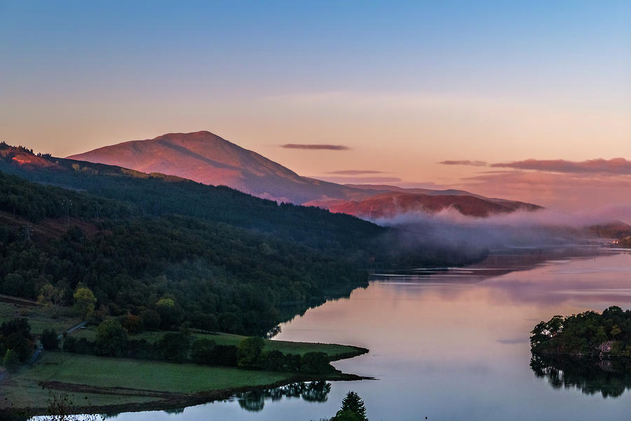 Perthshire Photograph - Schiehallion  From Queens View by David Ross