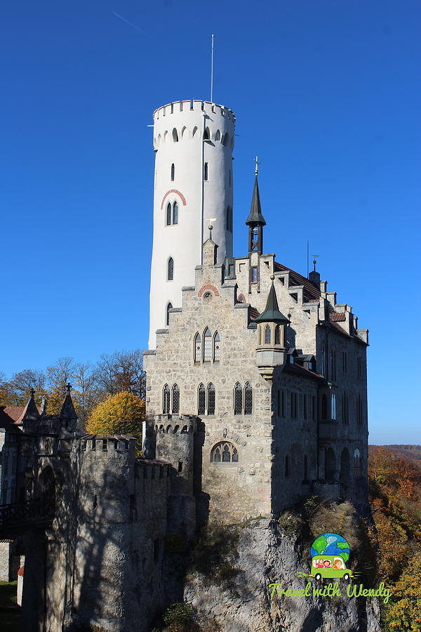 Lichtenstein Photograph - Schloss Lichtenstein by Wendy Payne Travel Writer