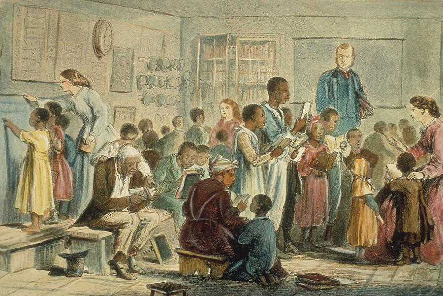 School For Slaves Photograph by Fotosearch