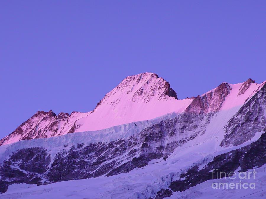 Schreckhorn North Face Photograph