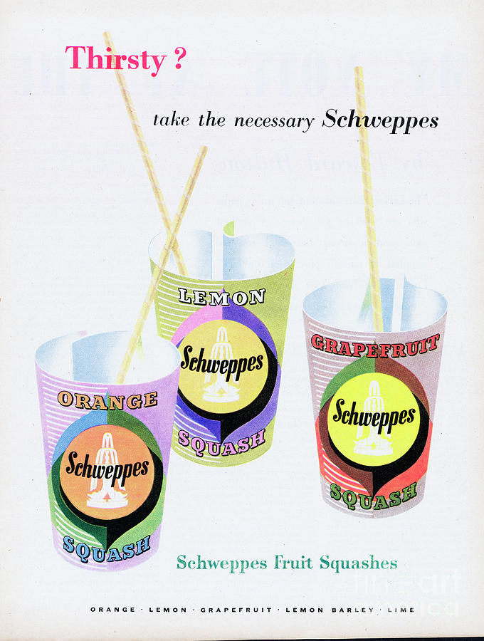 Schweppes Photograph by Picture Post