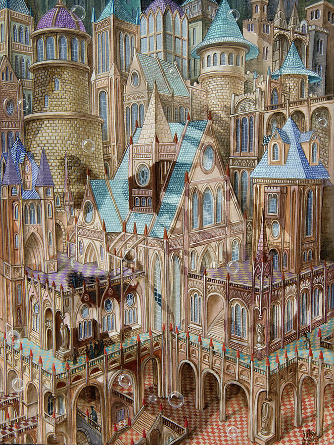 Science City by Victor Molev