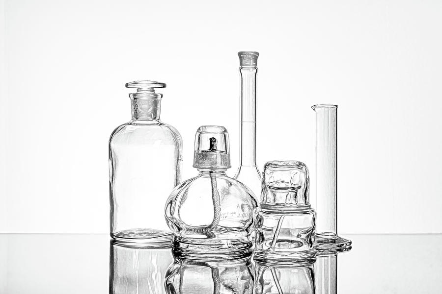 Science Still Life by Tom Mc Nemar