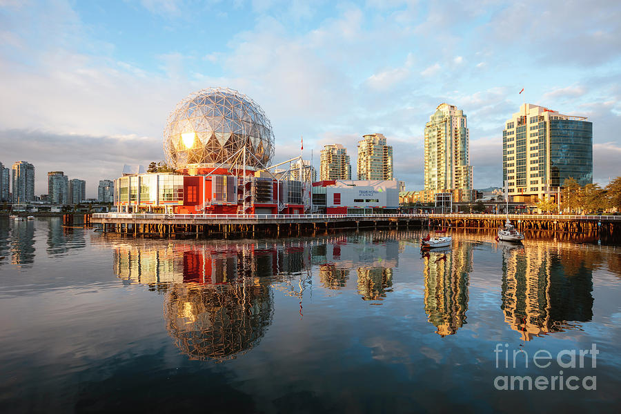 Science World, False Creek, Vancouver by Matteo Colombo