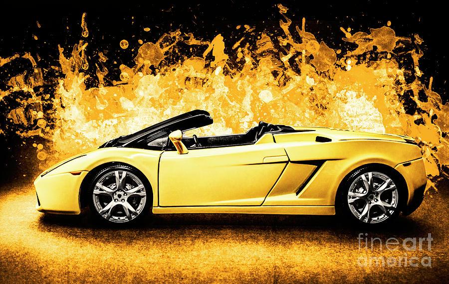 Car Photograph - Scorcher by Jorgo Photography - Wall Art Gallery