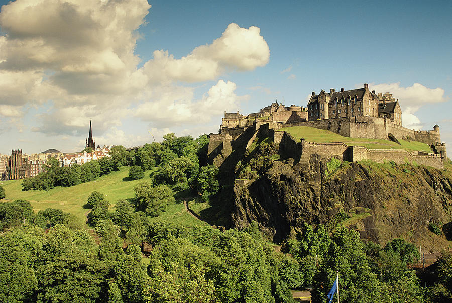 Scotland, Edinburgh, Edinburgh  Castle Photograph by Doug Corrance.