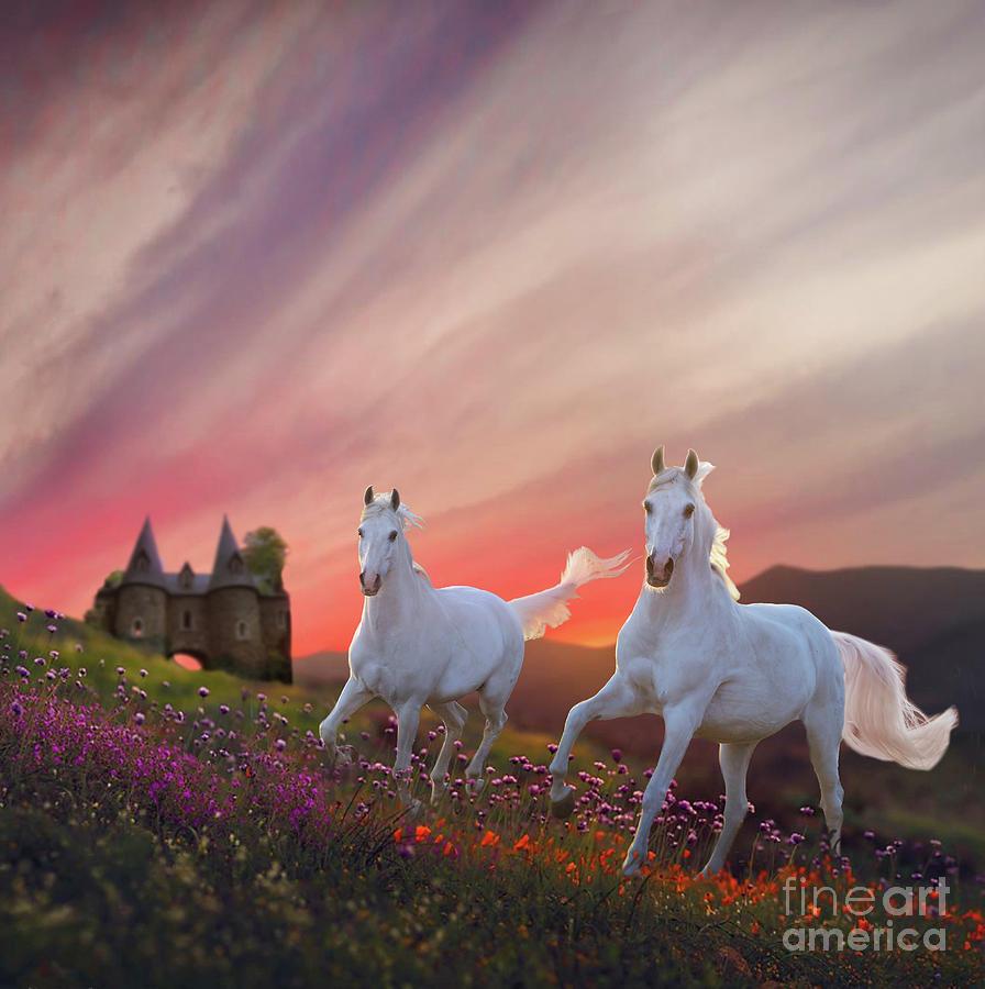 Scotland Fantasy by Melinda Hughes-Berland