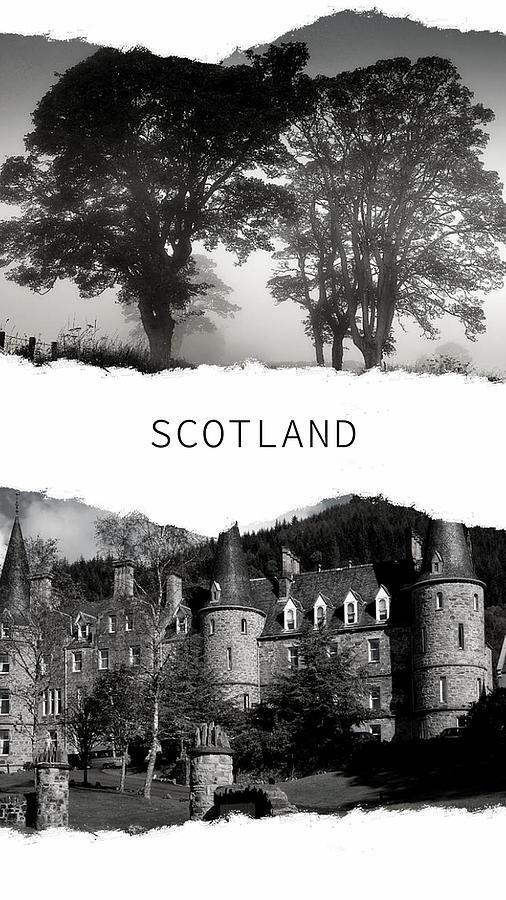 Scotland Poster 1 by Jenny Rainbow