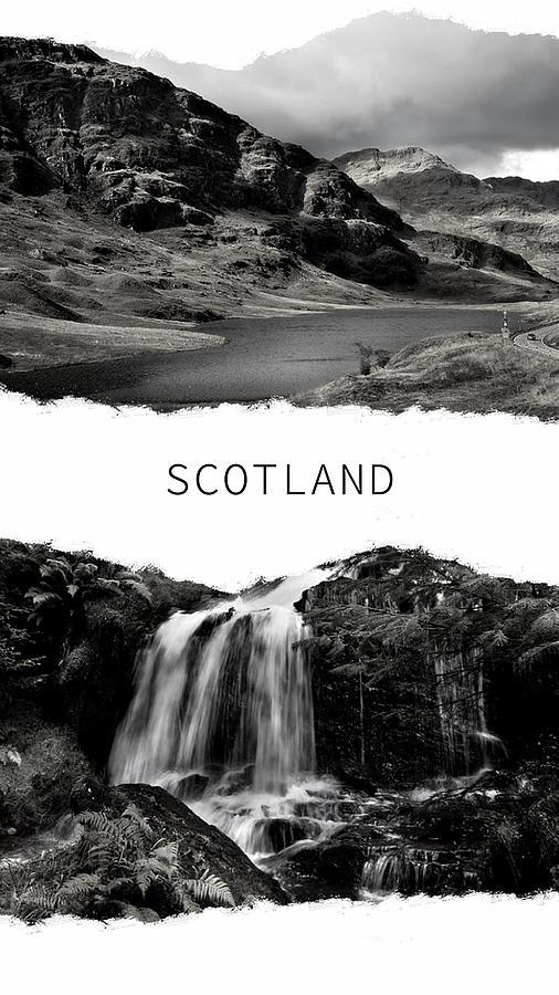 Scotland Poster 2 by Jenny Rainbow