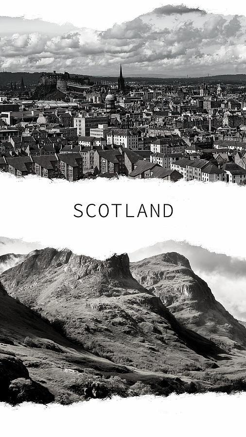 Scotland Poster by Jenny Rainbow