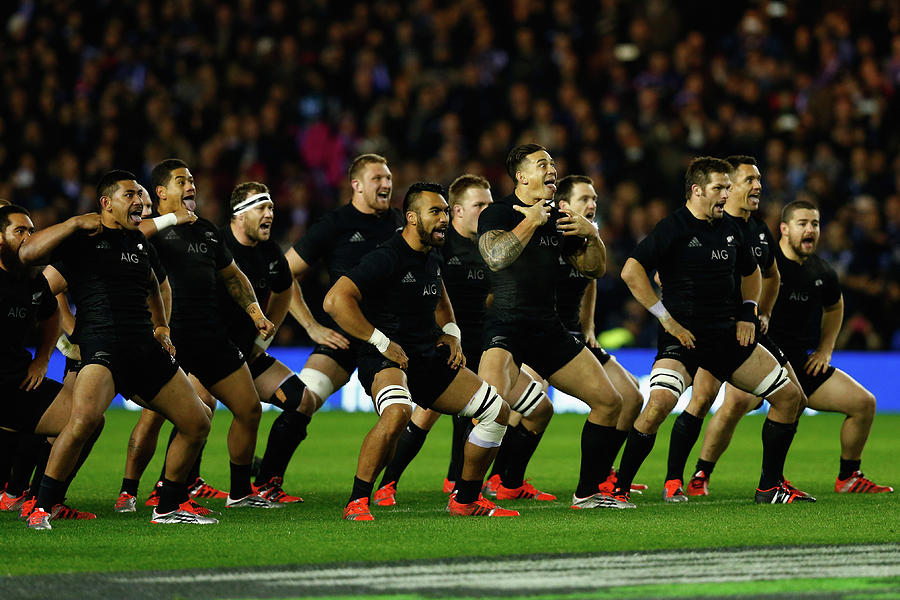 Scotland V New Zealand - International Photograph by Phil Walter