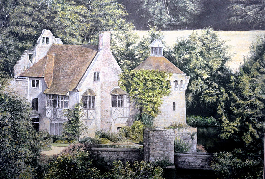 Scotney Castle by Rosemary Colyer