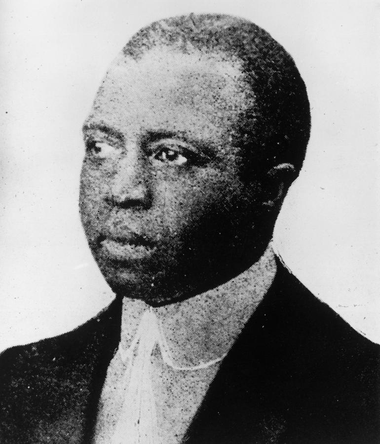 Scott Joplin Photograph by Hulton Archive