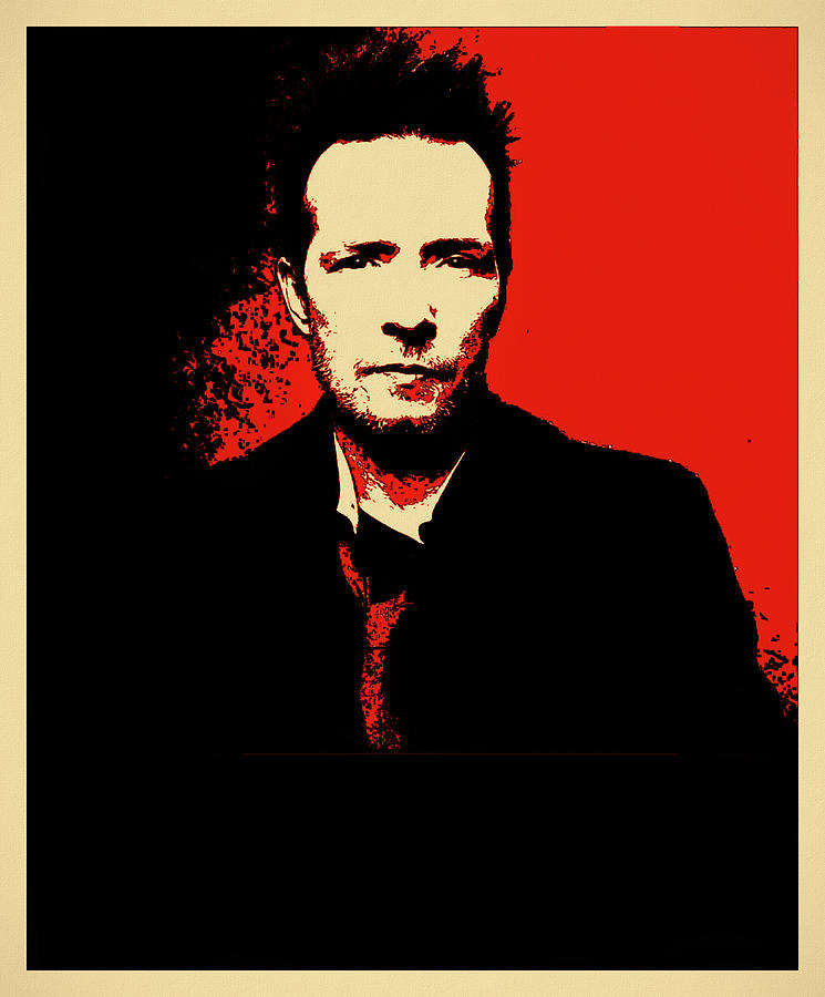 Scott Weiland Mixed Media - Scott Weiland by Dan Sproul